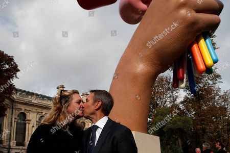 Editorial photo of Koons, Paris, France - 04 Oct 2019