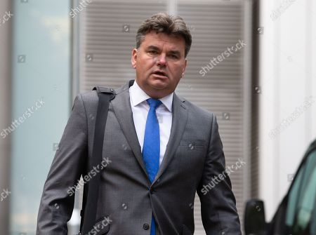 Editorial image of Dominic Chappell Court case, London, UK - 04 Oct 2019