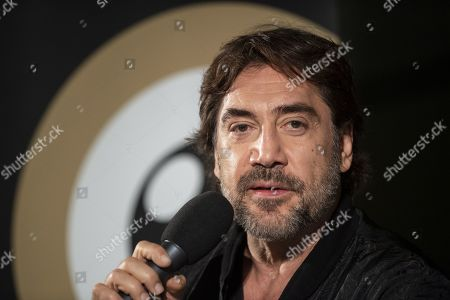 Spanish actor and environmental activist Javier Bardem speaks during the ZFF Master session at the 15th Zurich Film Festival (ZFF), in Zurich, Switzerland, 04 October 2019. The festival runs from 26 September to 06 October 2019.