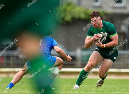 Connacht vs Leinster. Peter Sullivan of Connacht