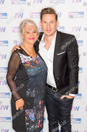 Stock Image of Denise Black and Lee Ryan