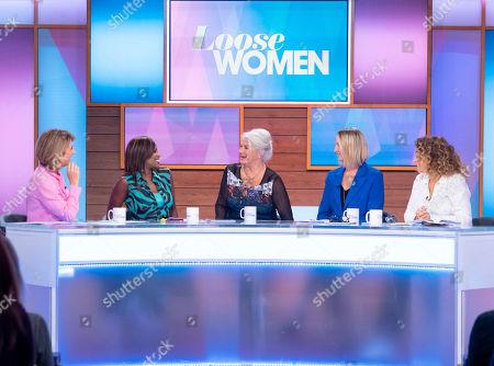 Kaye Adams, Kelle Bryan, Denise Black, Carol McGiffin and Nadia Sawalha