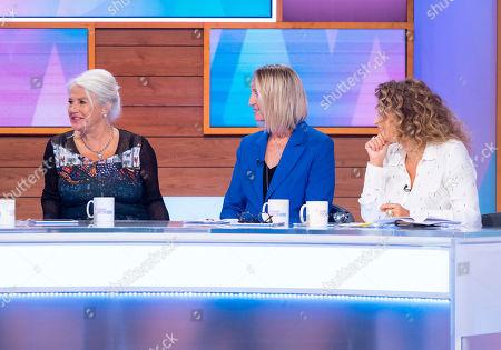 Denise Black, Carol McGiffin and Nadia Sawalha