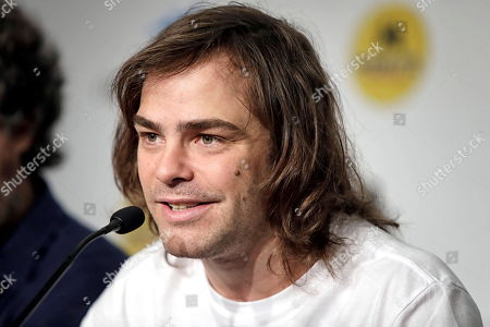 Stock Picture of Argentine actor and cast member Peter Lanzani speaks during the presentation press conference of the movie '4x4' at the 52nd Sitges Fantastic Film Festival in Barcelona, Spain, 04 September 2019. The festival runs from 03 to 13 October.