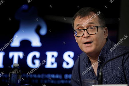 Sitges Fantastic Film Festival Director, Angel Sala addresses a press conference in Barcelona, Spain, 04 September 2019. The 52nd edition of the festival runs from 03 to 13 October.