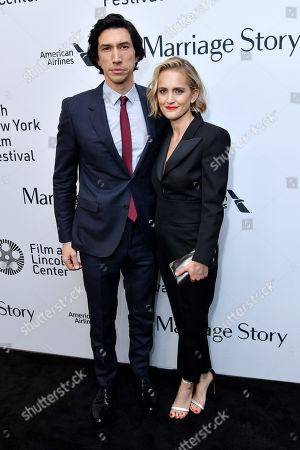 Editorial image of 'Marriage Story' film premiere, Arrivals, 57th New York Film Festival, USA - 04 Oct 2019
