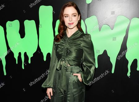 Editorial image of Huluween Celebration, Arrivals, New York Comic Con, USA - 04 Oct 2019