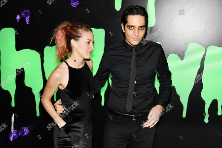 Stock Photo of Evelyn Leigh and David Dastmalchian