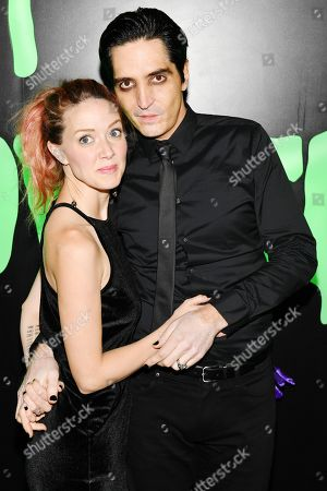 Stock Image of Evelyn Leigh and David Dastmalchian