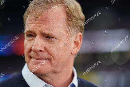 Roger Goodell, NFL commissioner  Oakland Raiders v Chicago Bears,Tottenham Hotspur Stadium, London, 6 Oct 2019 photo: Jed Leicester /NFL