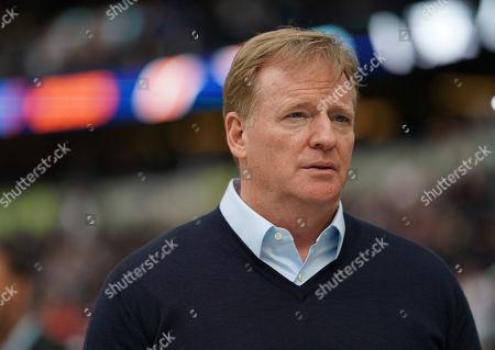 NFL Commissioner Roger Goodell Oakland Raiders v Chicago Bears,Tottenham Hotspur Stadium, London, 6 Oct 2019