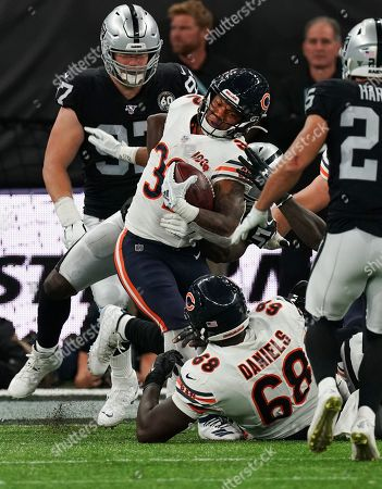 Stock Picture of Chicago Bears running back David Montgomery  (32)