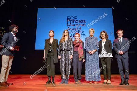 Editorial photo of ECF Princess Margriet Award for Culture, Theater de Meervaart, Amsterdam, Netherlands - 02 Oct 2019