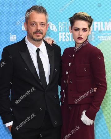 Benedict Andrews and Kristen Stewart
