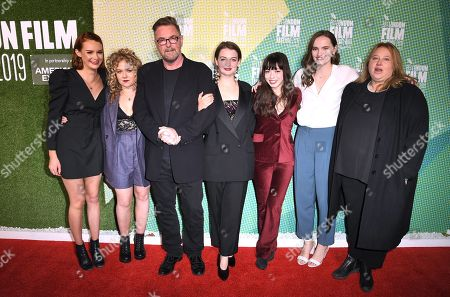 Rona Morison, Sally Messham, Michael Caton-Jones, Tallulah Greive, Marli Siu, Abigail Lawrie and Laura Viederman