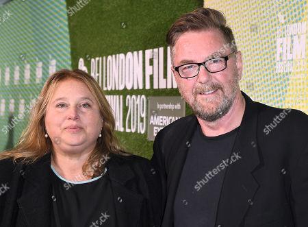 Michael Caton-Jones and Laura Viederman