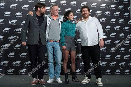 Stock Picture of Antoine De Bary, Noee Abita, Thomas Blumenthal, Christopher Lambert