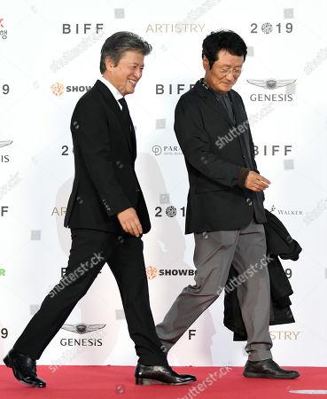 Kwon Hae-Hyo and Moon Sung-geun