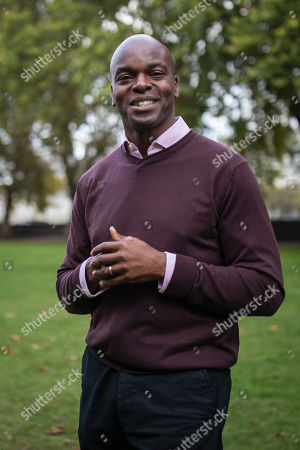 Conservative candidate for the 2020 London Mayoral election Shaun Bailey in Westminster.