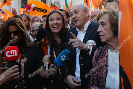 Portuguese Social Democratic Party (PSD), Rui Rio, during a political campaign for the upcoming legislative elections, in Lisbon, Portugal, 04 October 2019. The 2019 legislative elections will take place 06 October 2019.