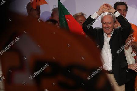 Portuguese Social Democratic Party (PSD), Rui Rio after a political campaign for the upcoming legislative elections, in Lisbon, Portugal, 04 October 2019. The 2019 legislative elections will take place 06 October 2019.