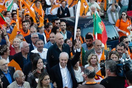 Portuguese Social Democratic Party (PSD) leader Rui Rio during a political campaign for the upcoming legislative elections, in Lisbon, Portugal, 04 October 2019. The 2019 legislative elections will take place on 06 October 2019.