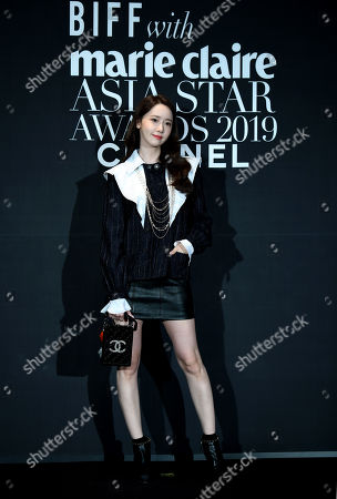 Editorial picture of Marie Claire Asia Star Award, Busan, South Korea - 04 Oct 2019