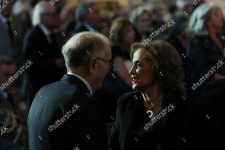 Editorial image of Funeral ceremonies of Diogo Freitas do Amaral, Lisboa, Portugal - 04 Oct 2019