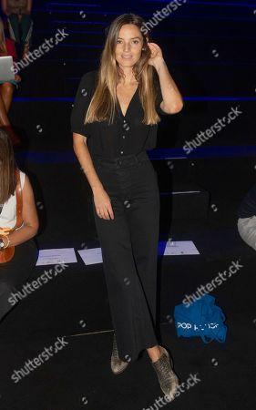 Model Aida Artiles backstage