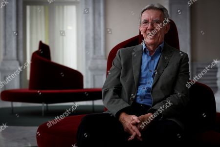 Editorial picture of Jean-Pierre Sauvage interview, San Sebastian, Spain - 04 Oct 2019