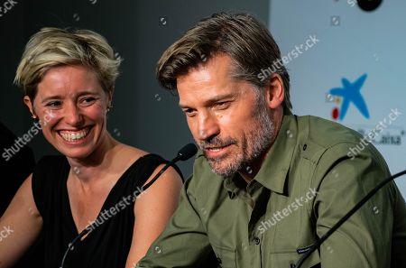 Katrin Pors and Nikolaj Coster-Waldau