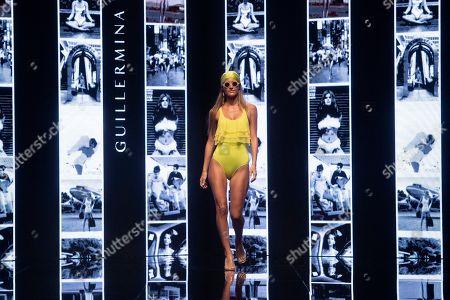 Malena Costa on the catwalk
