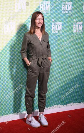 Stock Image of Kate Dickie arrives at the world premiere of 'Our Ladies' in Embankment Garden Cinema in London, Britain, 04 October 2019. The 2019 BFI Film Festival runs from 02 to 13 October.