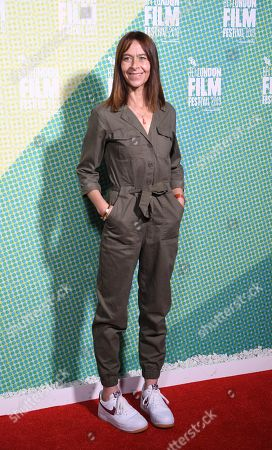 Kate Dickie arrives at the world premiere of 'Our Ladies' in Embankment Garden Cinema in London, Britain, 04 October 2019. The 2019 BFI Film Festival runs from 02 to 13 October.