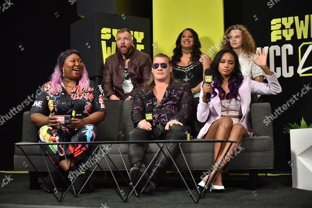 Stock Photo of Awesome Kong, Jonathan Good, Chris Jericho, Nyla Rose, Brandi Rhodes and Jungle Boy