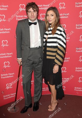 Luke Pritchard and Ellie Rose attend the British Heart Foundation's Heart Hero Awards at the Underglobe, Bankside in London.