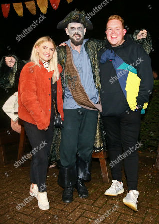 Stock Photo of Lucy Fallon and Colson Smith
