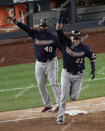 Editorial picture of Minnesota Twins at New York Yankees, Bronx, USA - 04 Oct 2019
