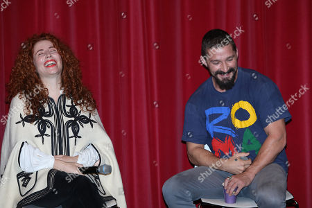 Alma Har'el and Shia LeBeouf