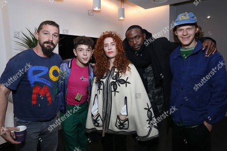 Stock Picture of Shia LeBeouf, Noah Jupe, Alma Har'el, Byron Bowers and Lucas Hedges