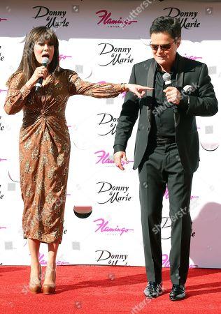 Marie Osmond and Donny Osmond