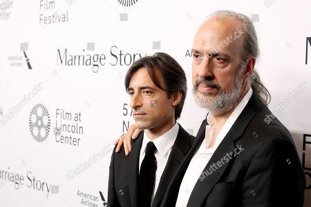 Noah Baumbach (Director), Kent Jones (NYFF)