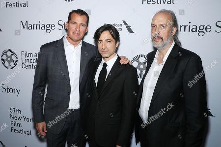 Scott Stuber (Netflix), Noah Baumbach (Director), Kent Jones (NYFF)