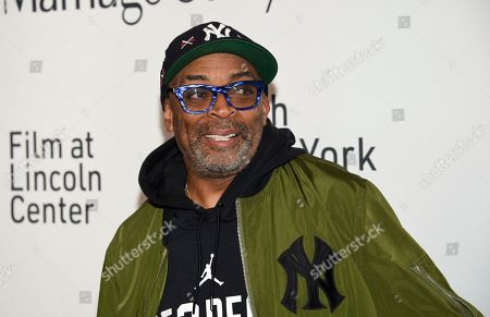 """Spike Lee attends the """"Marriage Story"""" premiere during the 57th New York Film Festival at Alice Tully Hall, in New York"""