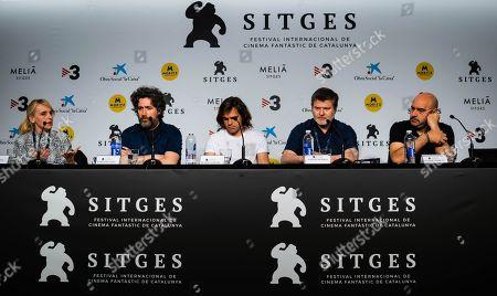 Mariano Cohn, Juan Lanzani and cast members