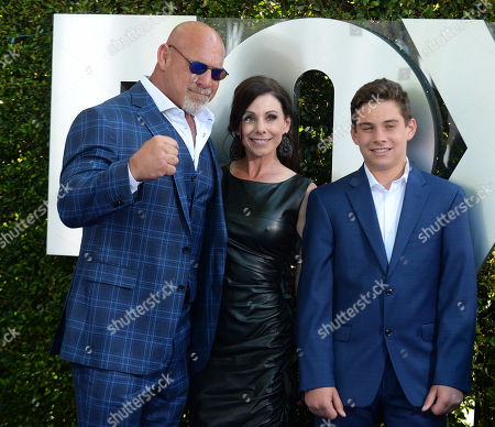 Stock Image of Bill Goldberg and family