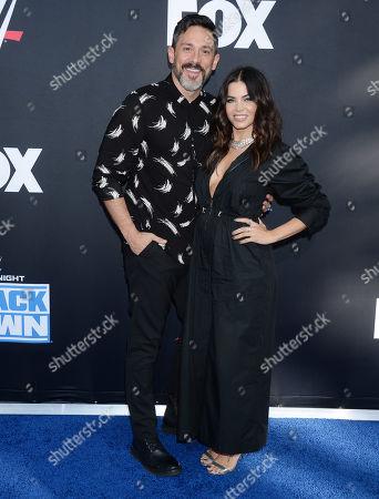 Jenna Dewan and boyfriend Steve Kazee