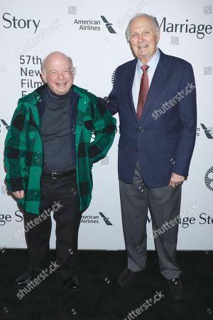 Wallace Shawn and Alan Alda