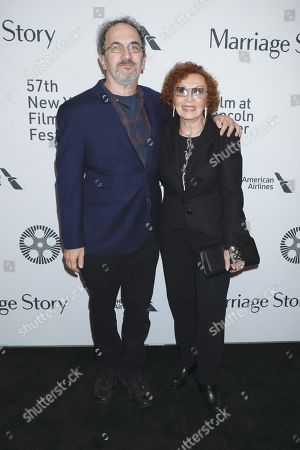 Stock Photo of Robert Smigel and Lucia Smigel