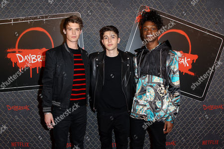 Colin Ford, Gegory Kasyan, Austin Crute